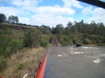 On board SD40T-2
