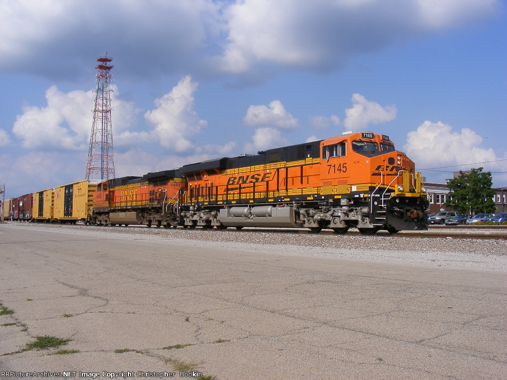 BNSF 7145