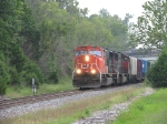 CN 5602 with 172 cars and 10,219 feet of train