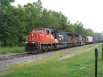 CN 5602 with about 2 miles of train