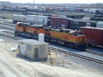 BNSF 4539 and 7217