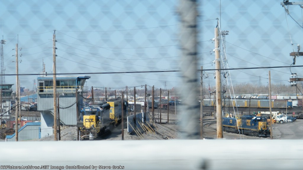 Frontier yard hump sets