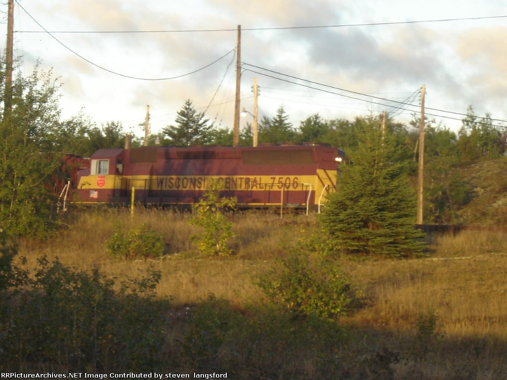 WC engine # 7506 ON A COLD SEPTEMBER MOURNING