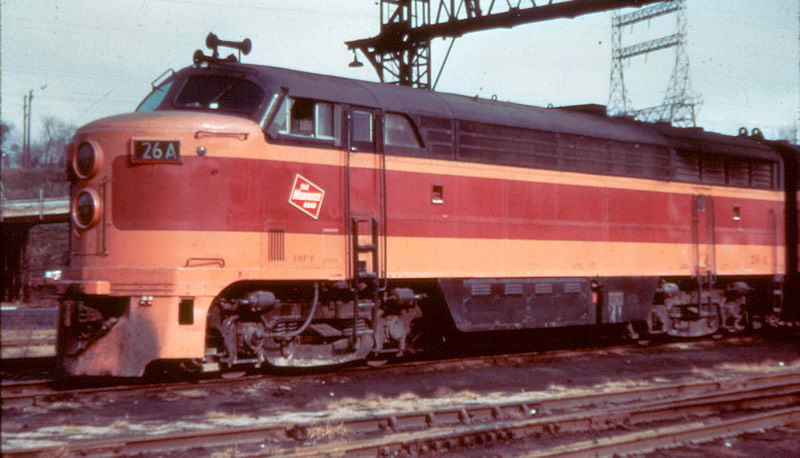 Milwaukee Road FM Cab Unit 26A