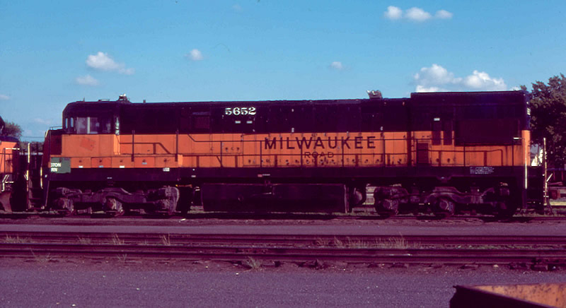 Milwaukee Road U30C awaits its fate