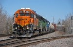 BNSF 2001 on the Grand Rapids Local