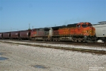 BNSF Loaded Grain Train