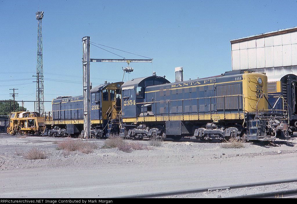 ATSF S2s 2354 and 2332