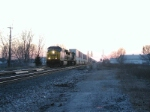 CSX 635 At Sunset