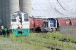 A tale of 2 switchers: The Cargill plant's Remote Control SW and the Albany Port RR's own pup