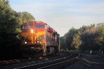 KCSM 4668 leads westbound Q710 into the setting sun
