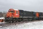 NYSW 3764 rest in a early spring snow on the B&H, its days likey done