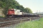 Westbound unit sulfur train