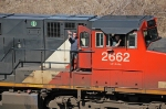 CN 2662 with its friendly crew