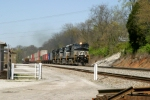 NS 9196,9888,9720,9729 lead a stack train through Ferguson/Woods MP 162 2:03pm ET 4/12/09