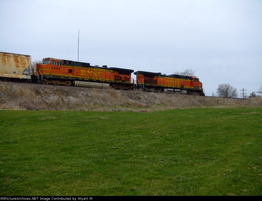 BNSF 4455