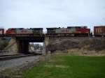 BNSF 737 and 4714