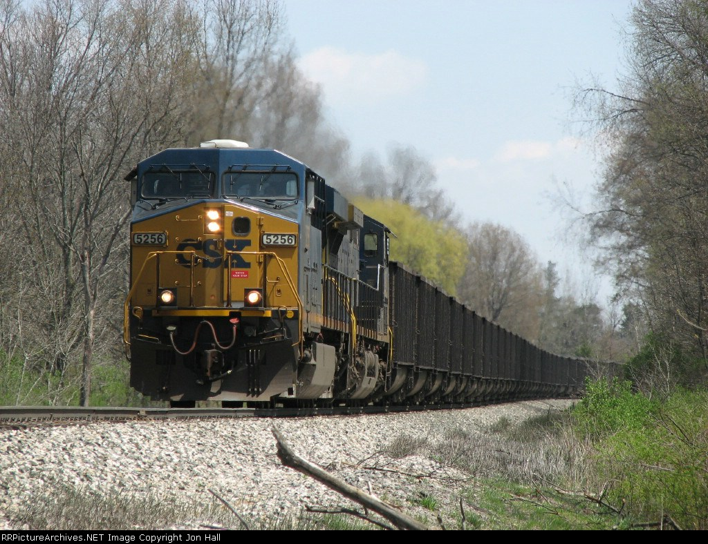 CSX 5256 leads N912-29 downgrade