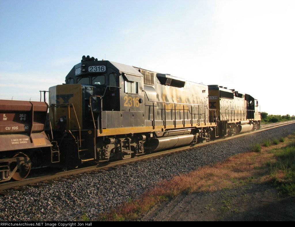 CSX 2316 & 6939
