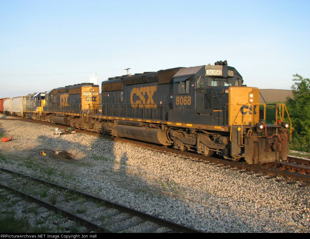 CSX 8068 & 8858 with 2741