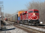 CP 8766 leads X500-15 onto 2 Track