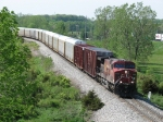 CP 9619 works eastward with X500-20
