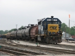 CSX 6115 pulls down the Old Even with Y106-28