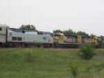 BNSF power pulls Amtrak