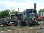 MSRC 7004 & MTM 1586 being scrapped