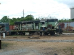 MTM 1586 being scrapped