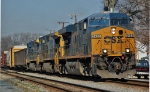 southbound drag freight