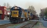 Herzog loaded train