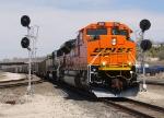 BNSF 9314 through Santa Fe Jct.