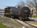 Kaw River RR switching