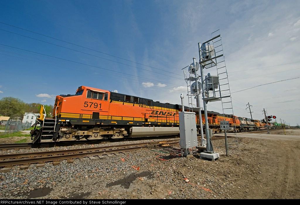 BNSF 5791 West