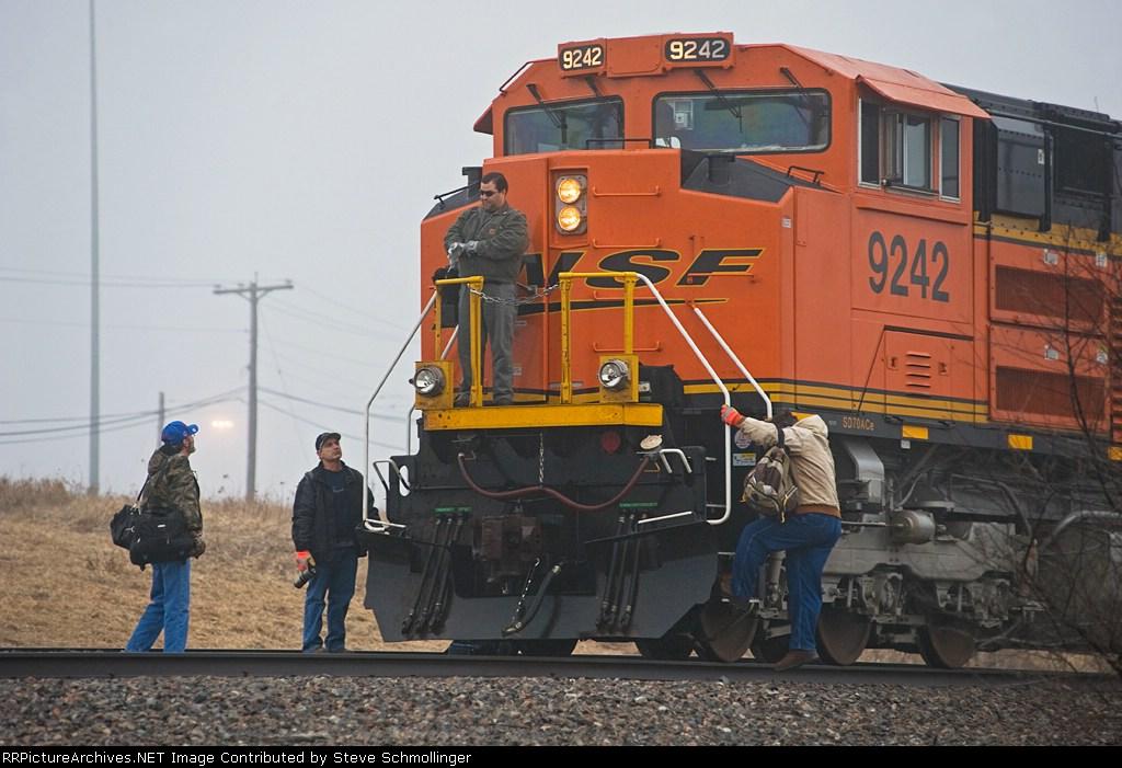 BNSF 9242 West