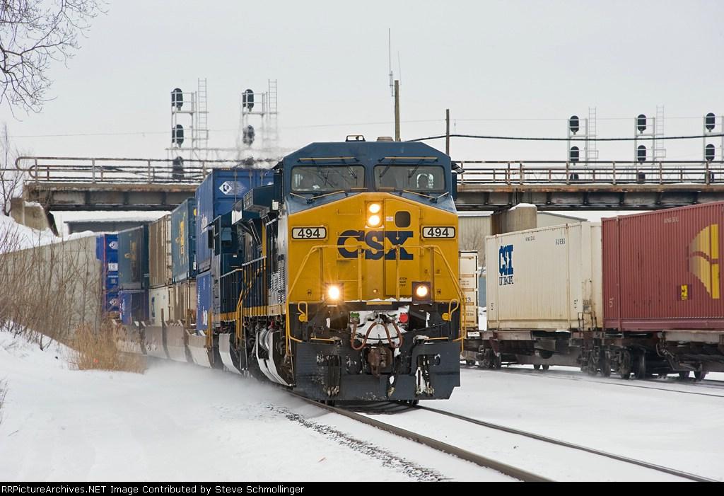 CSX 494 West