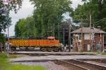 BNSF coal train at Turner Junction