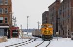 BNSF ebd coal train