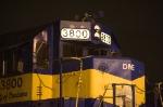 DM&E 3800 at Nahant Yard