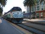 Coaster 2104 and a Surfliner