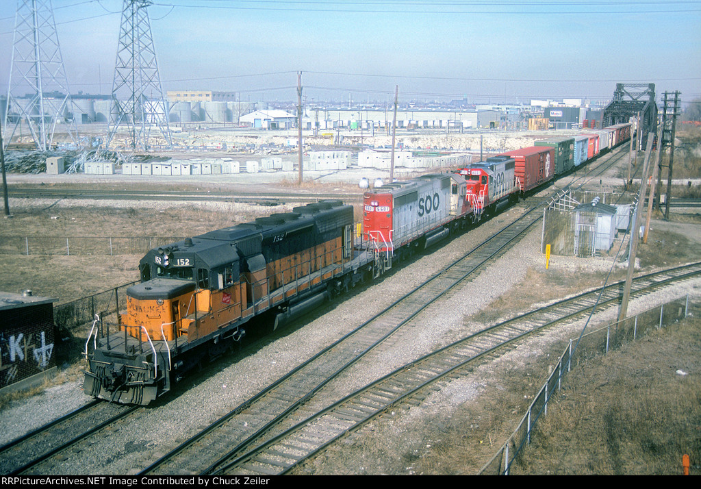 MILW SD40-2 152