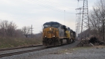 CSX ES44DC 5226,C40-8W 7336 and SD40-2 8336