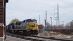 CSX C40-8W 7340 & ES44AC 773