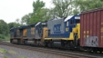 I was supprised to see CSX GP15-1 1537 in ridgefield Park