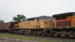 BNSF AC44CW 5657 & UP AC44CW 7002 on a CSX Ethnol train at Ridgefield Park NJ