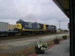 CSX B36-7 5865 & C40-8W 7876