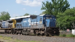 CSX Q418 C40-8 7496 & AC44CW 348 at Ridgefield park