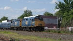 CSX F40PH-2 9998 & 9997 on a OCS at Ridgefield Park NJ 5/30/2009