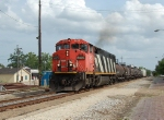 CN 2425 CN weed spray train